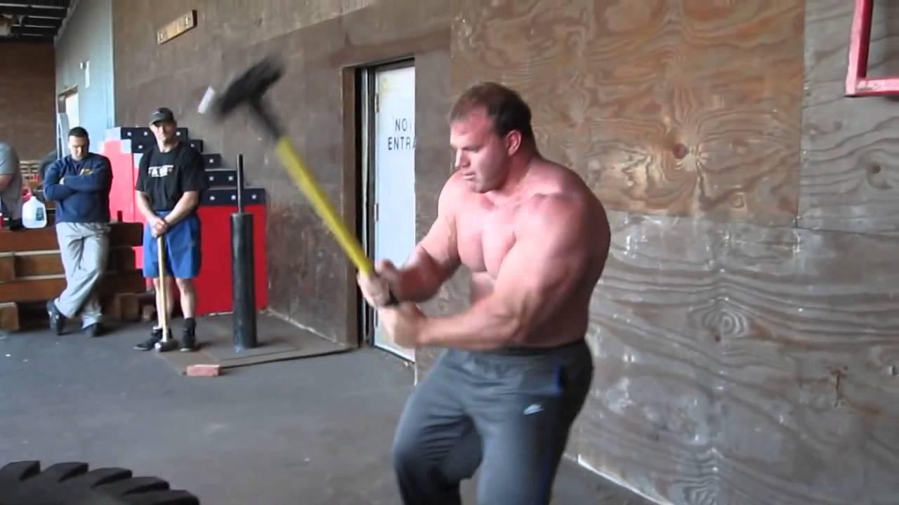 Derek Poundstone sledge hammer cardio work YouTube - YouTubeDerek Poundstone Bench