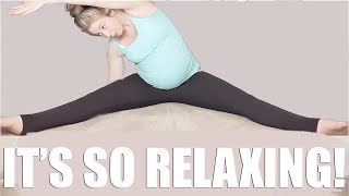 Prenatal Safe Stretch Routine♡ Relief for insomnia, restless leg syndrome, sciatica & more