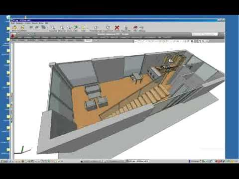 erstellen einer 3d perspektive autocad architecture. Black Bedroom Furniture Sets. Home Design Ideas