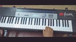 Oru murai piranthen Song Keyboard   Siddesh joshi  