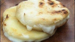 Queso - Arepas - Como Hacer Arepas De Queso - Arepas Colombianas - Elmundodelynda