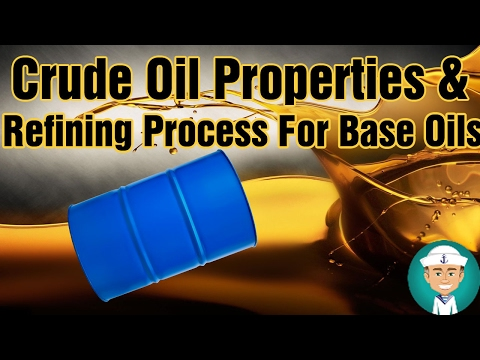 Crude Oil Properties And Refining Process For Base Oils