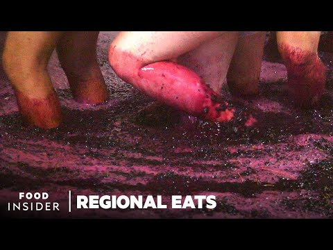 How Portuguese Port Wine Is Made In The Douro Valley | Regional Eats