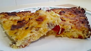 How To Make Hashbrown Three Cheese Casserole (low Carb, Primal)