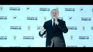 Cumhurbaşkanımız Erdoğan, Ereğli Mitingi'nde konuştu