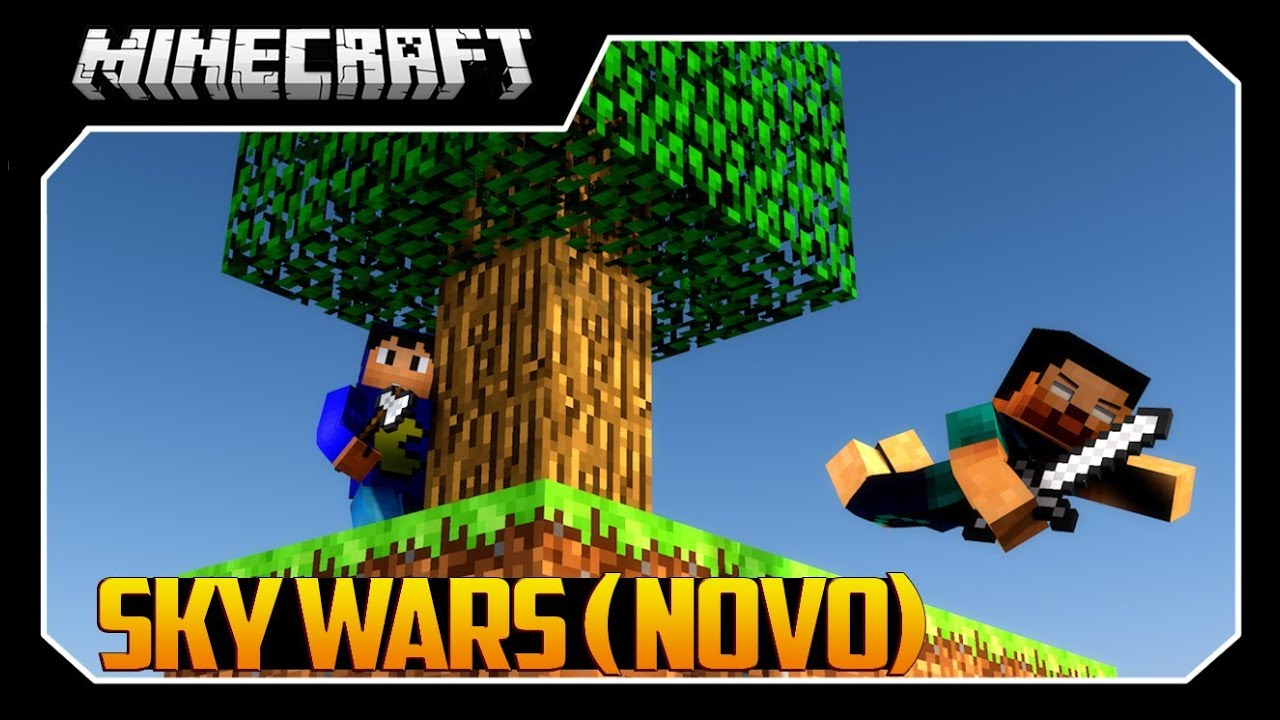 Minecraft: NOVO SKY WARS - ÉPICO!! - YouTube