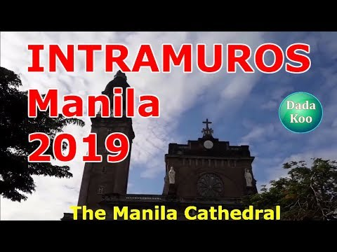(2019) 7 MOST VISITED PLACES Of INTRAMUROS! VLOG TOUR, Manila, Philippines