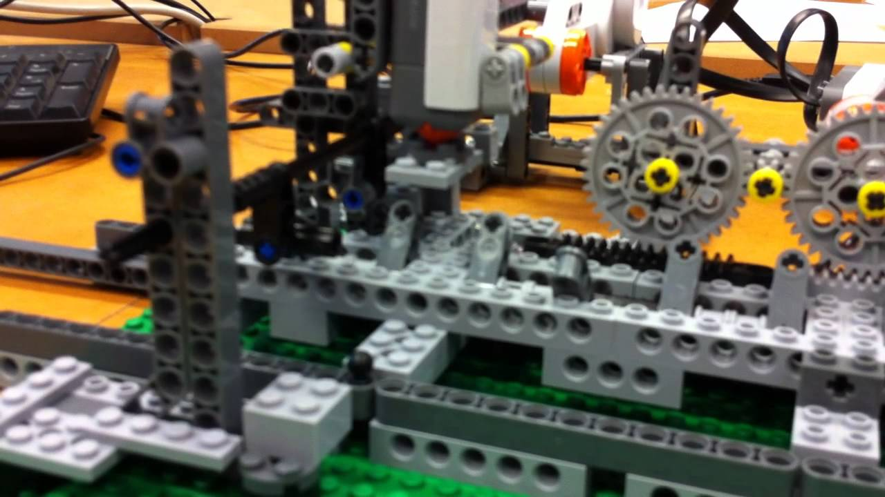 Turing Machine Ia Lego Mindstorms Youtube