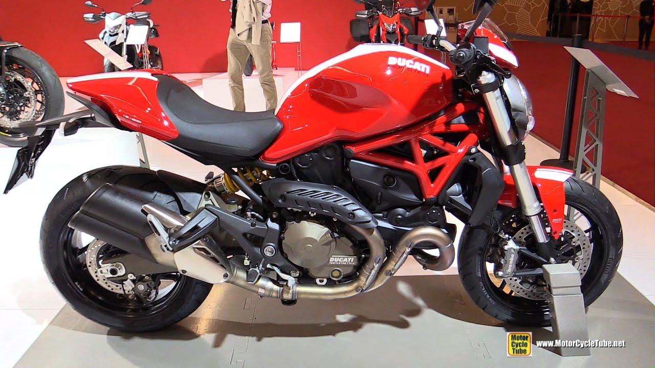 2016 Ducati Monster 821 Stripe Walkaround 2017 Salon De La Moto Paris