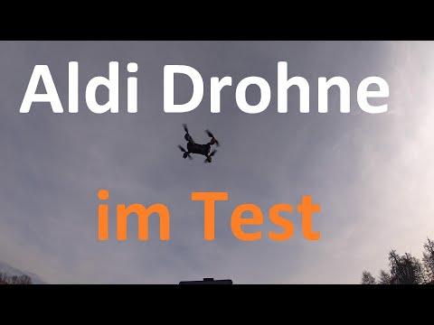 Aldi Drohne / Maginon Drohne Test: Foto, Video, Reichweite, Flugzeit