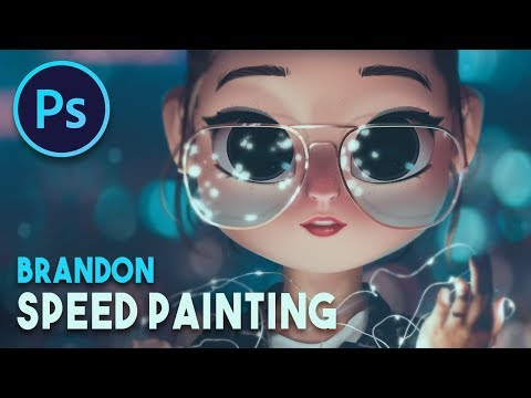 BRANDON WOELFEL  | SPEED PAINTING