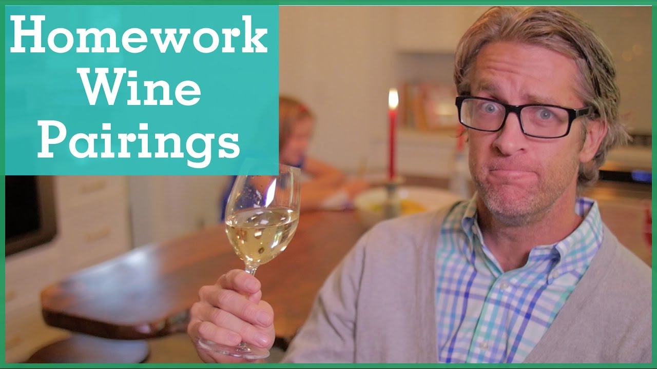 The Homework Struggle Parody Every >> Parents Pair Homework And Wines In Funny Video