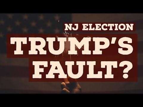 Was Donald Trump to blame for Democrats winning New Jersey?