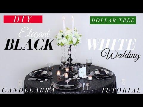 Elegant Dollar Tree DIY Candelabra | Dollar tree DIY Wedding Centerpiece | DIY Wedding Decor
