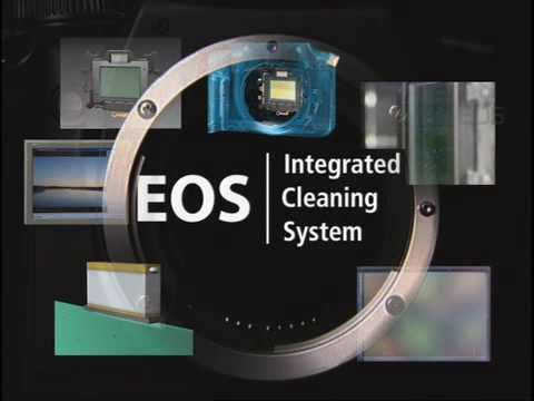 Canon EOS - Integrated Cleaning System