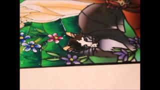 Роспись витража мастер-класс Color Kit