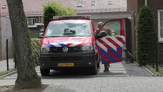 OvDB 18-9492 Brandweer ZHZ met spoed naar een Grote Brand in Dordrecht!