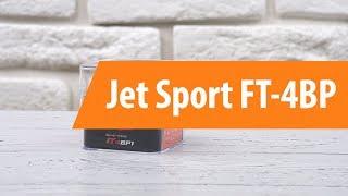 Распаковка фитнес-браслета Jet Sport FT-4BP/ Unboxing Jet Sport FT-4BP