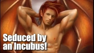 ASMR, Vampire Boyfriend Comforts You After a Nightmare with an Incubus! (Re-edit)