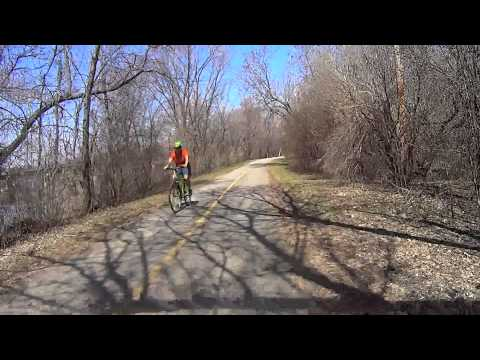 Cycling in Ottawa - Moonies Bay Beach to Kingsview Parc  (1080p raw source)