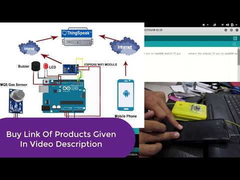 Arduino and ESP8266 IoT Control Devices with ThingSpeak com