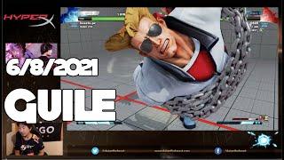 6/8/2021 ミルダム配信 Mildom - Street Fighter V ガイル Guile Part 2