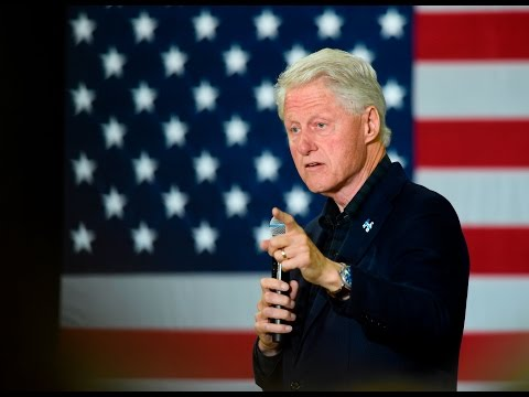 Former President Bill Clinton Speaks at Albright College