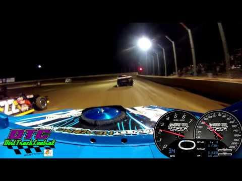 Ryan Gustin Heat Race Humboldt Speedway USMT Modifieds 3-8-13