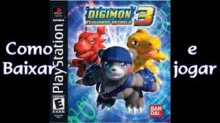 Download e emular Digimon World 3 no PC, Playstation