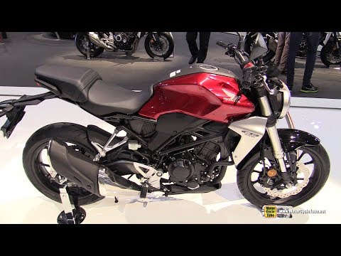 2018 Honda CB300R Neo Sports Cafe - Walkaround - Debut at 2017 EICMA Milan Motorcycle Exhibition