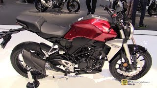 2018 honda cb300r neo sports cafe walkaround debut at 2017 eicma milan motorcycle exhibition
