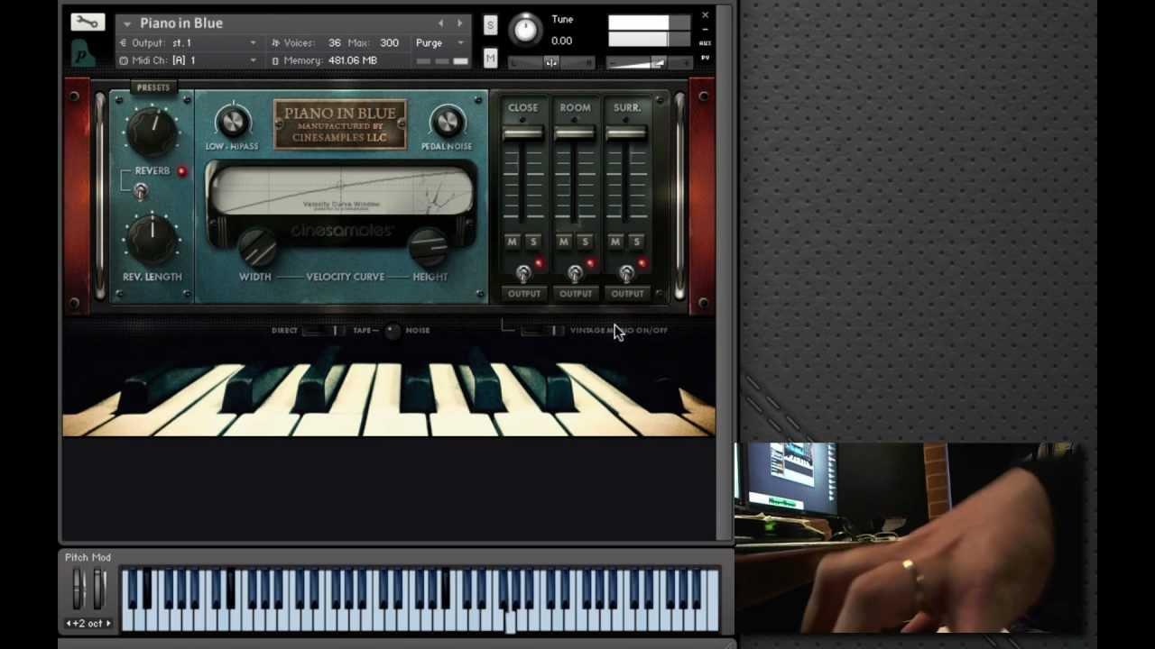 Piano In Blue [2 DVD]