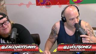Luis J. Gomez discovers that Joe Rogan mentioned him on his podcast - Real Ass Podcast