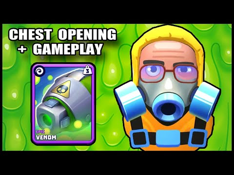 VENOM CANNON  - TANKS A LOT - Chest Opening + GAMEPLAY