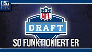 Wie der NFL-Draft wirklich funktioniert - Die Talente-Auswahl beim American Football  [Deutsch]