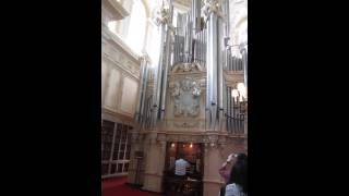 Trumpet Voluntary by John Stanley on the Willis Organ at Blenheim Palace, Woodstock, Oxon