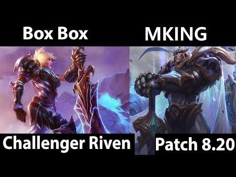 Box Box   Riven vs Garen  MKING  Top  - Box Box Riven Montage