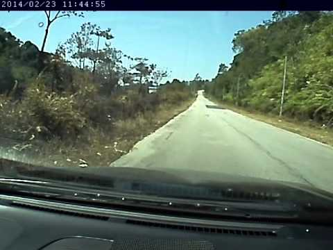 Nissan n16 sr20det vs perdana 4G63T 4wd Travel Video
