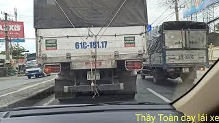 Bổ Túc lái Miền Tây - TPHCM kinh nghiệm sử lý mọi tình huống trên QL1A và cao tốc [ clip trước dịch]