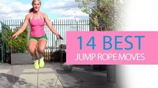 JUMP ROPE HIIT Workout (14 Killer Jump Roping Exercises!!)
