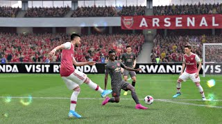 FIFA 20 Gameplay - Arsenal vs Manchester United (Premier League) Rain Match - FIFA 20 PS4