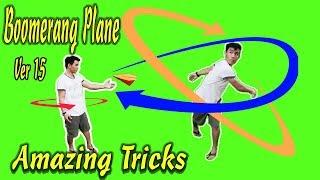 Cách Gấp Máy Bay Boomerang Ver 15 , Origami Boomerang plane