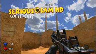 SERIOUS SAM FUSION 2017 - SERIOUS SAM 3 WEAPONS