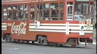 函館市電 1987年9月函館駅前の風景 ①