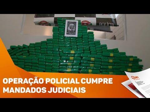 Operação policial cumpre mandados judiciais - TV SOROCABA/SBT