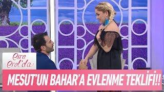 Mesut'un Bahar'a Evlenme Teklifi - Esra Erol'da 7 Haziran 2017