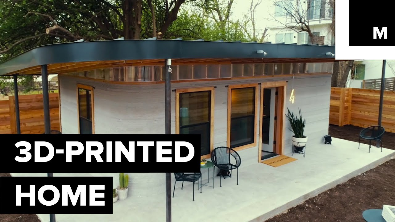 These Homes Are Proof That 3d Printing