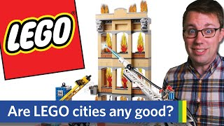 REAL Urban Planner Reviews LEGO City Sets