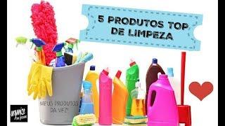 5 PRODUTOS TOP DE LIMPEZA DO ANO! | Organize sem Frescuras!