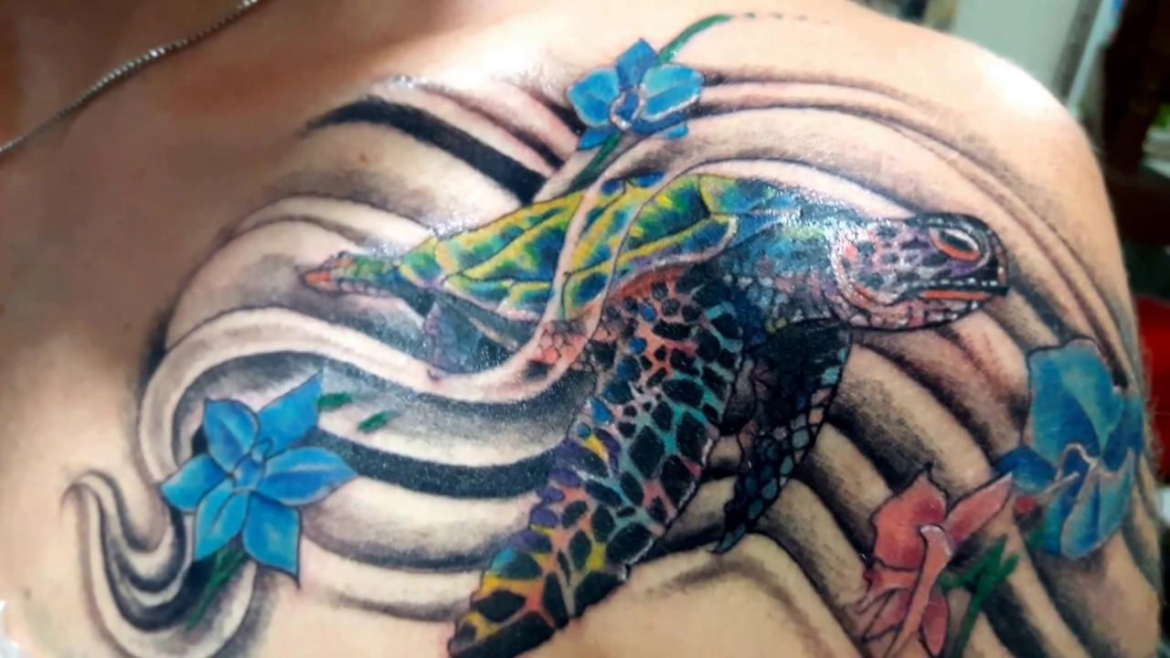 Tattoo Tartaruga Marinha Tatuagem